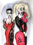 Harley Quinn and The Mist by losman126