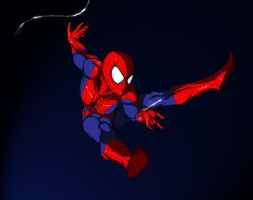 Spider-man 10-19-2012 by akgraphica