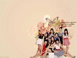SNSD - Tell me your wish Wallpaper by sayhellotothestars