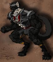 Siman2000's RQ: Werewolf TF by ACommonMisconception