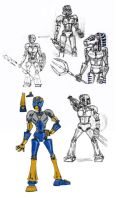 Bionicle Sketchdump Part 1. by ElisitaGayle