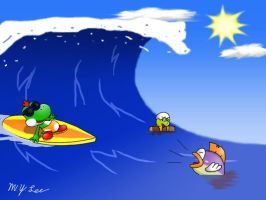 Surfs Up by ShardiSeal