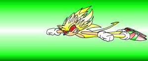 Super Sonic Flying by Enigmatic-Andy