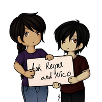 Ask Reyna and Nico by leukanthes
