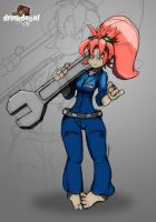 Large Wrench by drinkdecaf