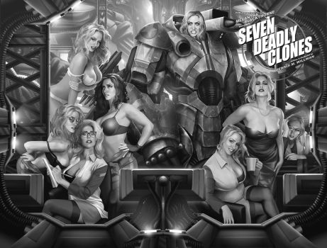 SEVEN DEADLY CLONES by willman1701