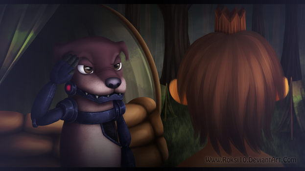 Animal Rivals: Ending #10 - Zax - by Roksi10