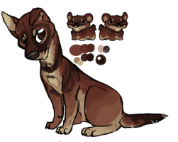 [OPEN] Canine Adoptable by SoupProductions