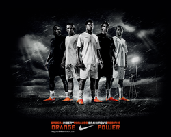 Nike Orange Power Wallpaper by Rzr316