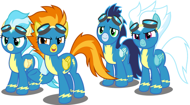 Vector #696 - So You Want To Be A Wonderbolt? by DashieSparkle