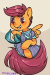 Magical Girl Scootaloo by Vogelchan
