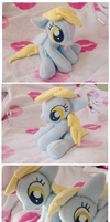 .: Sitting Derpy Plush :. by Fallenpeach