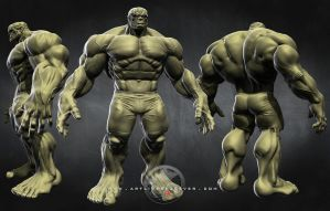 Hulk: Multi Views by LittleShaolin