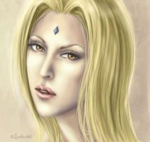 Portrait: Tsunade by Zardra