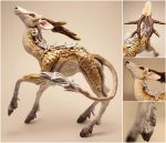 Lady the Kirin Sculpture by LuxDani