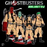 Ghostbusters Unlimited by thesometimers