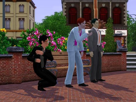 The Enforsers (Sims 3) by GoldieMilrose