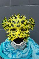 Green spotted puffer fish by CupCakeMonsterCrafts