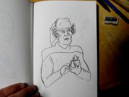 Ferengi sketch by MWaters