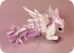 Amethyst rose dragon by AlviaAlcedo