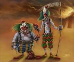 Clowns by Jamesonarts