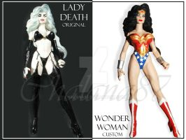 Lady Death Wonder Woman CUSTOM by Chalana87