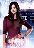 Doctor Who, Clara Oswin Oswald by Slytan