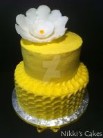 Yellow Petal Cake by Corpse-Queen