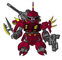 Zapper Zaku by AleximusPrime