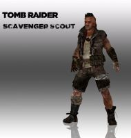 TOMB RAIDER: Scavenger Scout by doppelstuff