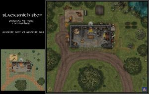 Blacksmith Shop Redo by Bogie-DJ