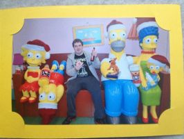 The Simpsons Sofa 'Wigan Comic-Con 4' by extraphotos