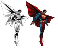 Superman Character sheet 2 by ErikVonLehmann