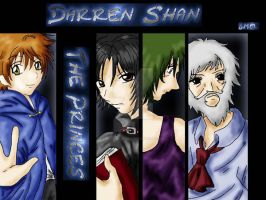 The Princes of Darren Shan by BotherMeOro