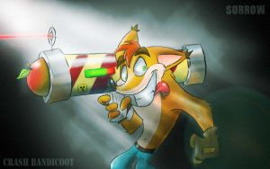 Crash bandicoot by KING-SORROW