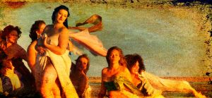Spiral Jetty Sirens...Tracy by 3feathers