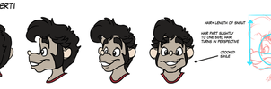 Ernie head turnaround by Fyuvix