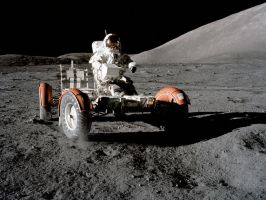 Moon Rover by JohnnySlowhand