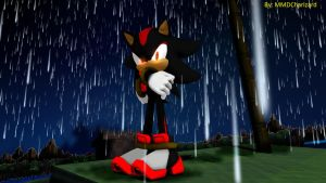 MMD Sonic Newcomer - Shadow the Hedgehog +DL+ by MMDCharizard