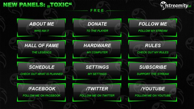 Streamity.gg - Panels (Package) - #004 by streamity