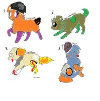dogs adoptable by stephany-evil