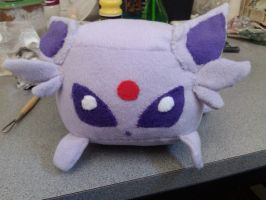 Espeon Derp Cube Plush by Sovriin