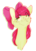 +MLP:FiM - Apple Bloom+ by never-coming-back