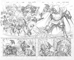 A+X 17 pages 2 and 3 by davidyardin