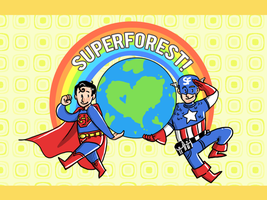 SuperForest is Super Awesome by Clazziquai