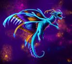 Faerie dragon by Deadguybeer