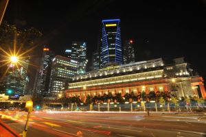 Fullerton Hotel Singapore by ice-bear