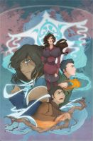 Legend of Korra - season 4 by yienyien