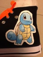 pokemon Squirtle shoe by Wilson250380
