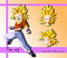Pan ssj Af by Metamine10